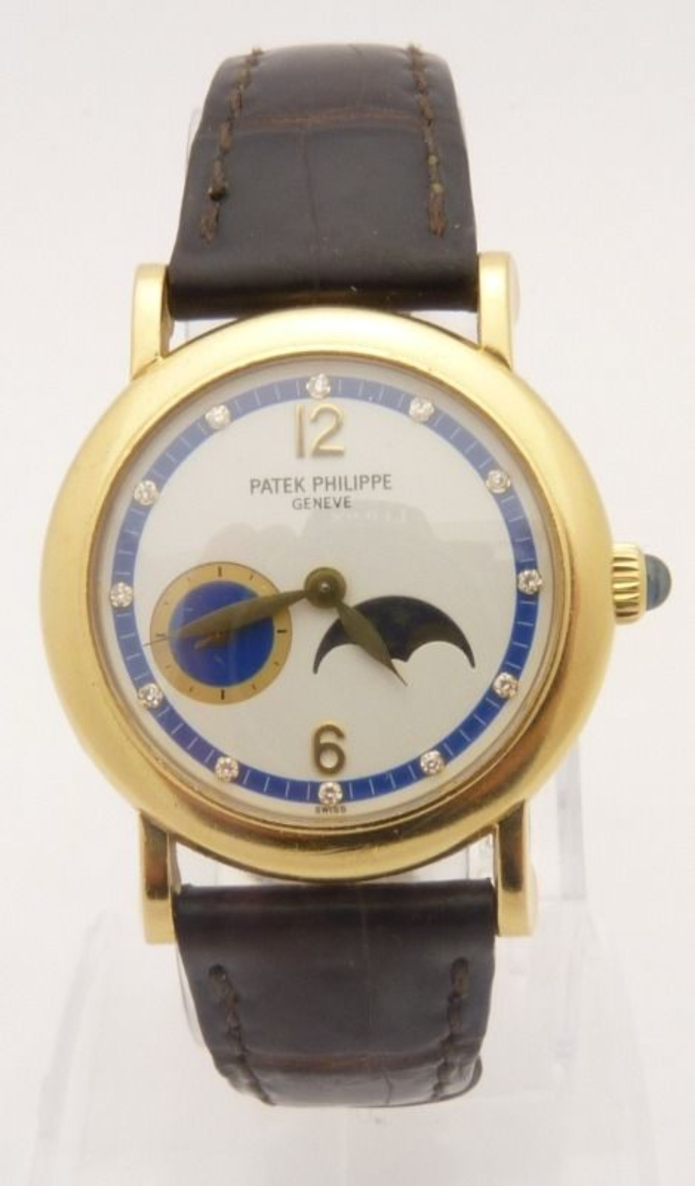 Patek Philippe 4857J Lady's Watch Diamond 18K Gold