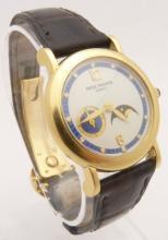 Lot 68: Patek Philippe 4857J Lady's Watch Diamond 18K Gold
