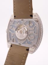 Lot 72: Baume & Mercier 18k White Gold Diamonds Watch