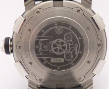 Lot 73: ROMAIN JEROME Men's Steampunk Stainless Steel Limited Edition Watch RJ.T.AU.SP.004.01