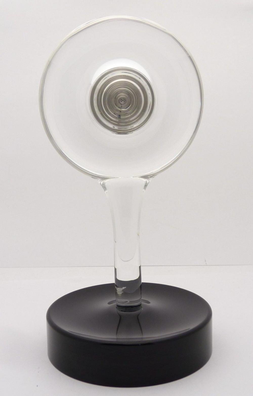 Baccarat France Crystal Table Desk Hypnos Clock