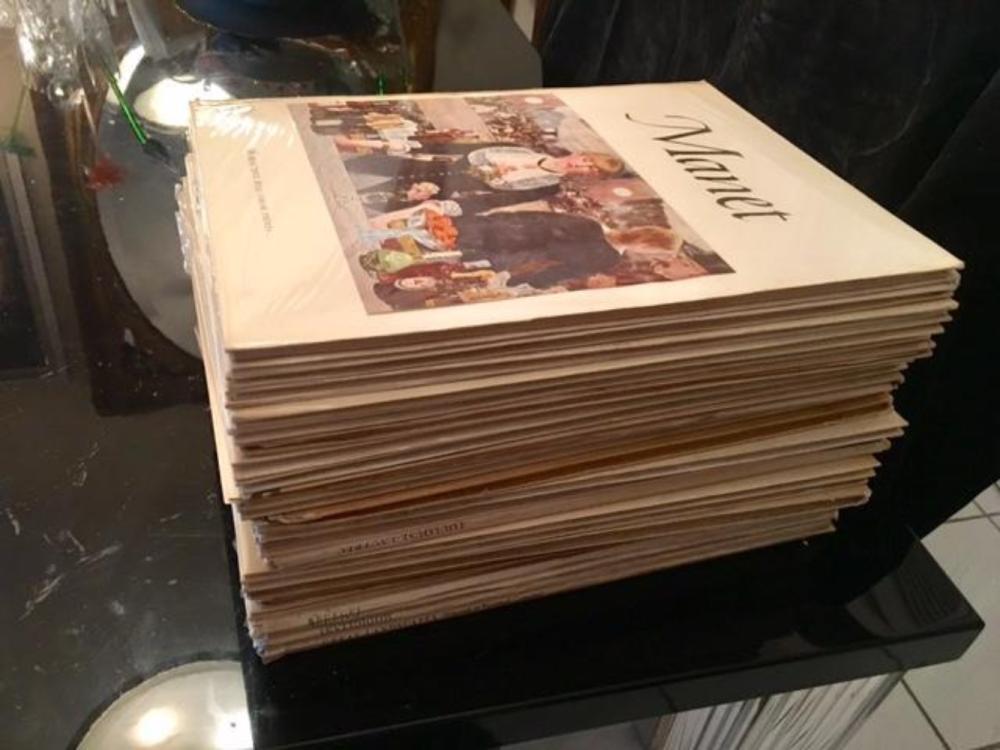 Lot 123: Collection of 21 Abrams Art Books w Color Prints