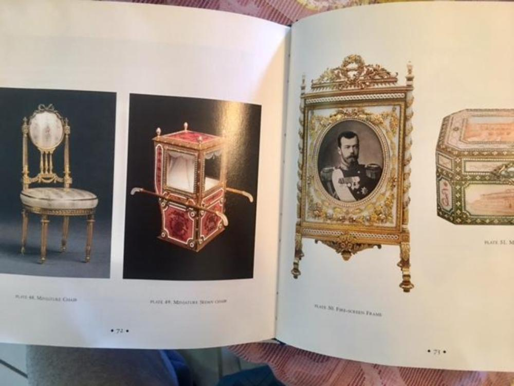 Lot 122: Pair of Faberge Art Books Autographed by Author