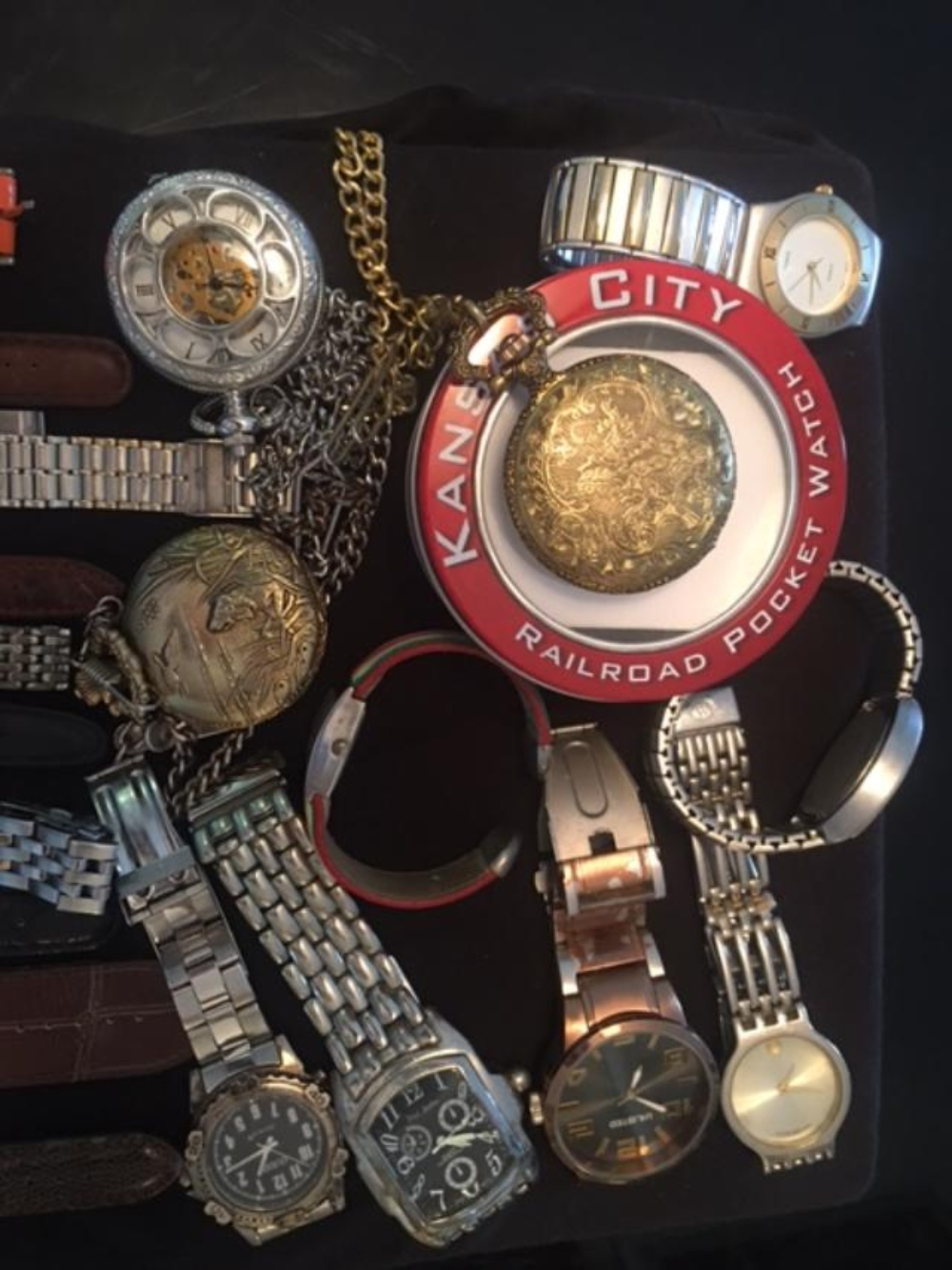 Lot 161: Group of 20 Assorted Mens Watches