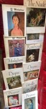 Lot 165: Group of 12 Art Books Degas Picasso Utrillo Rembrandt