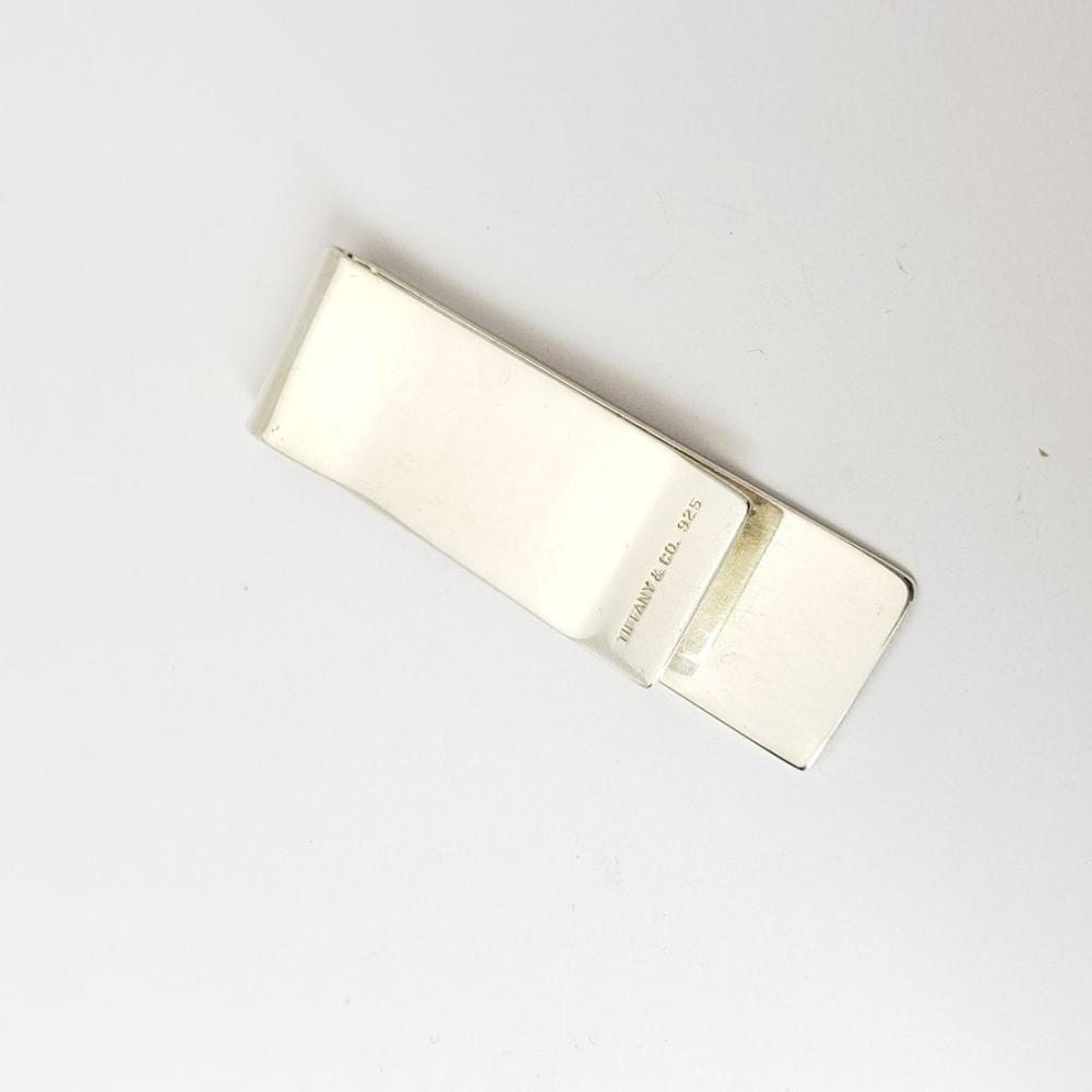 Lot 192: Designer Tiffany & Co 1837 925 Sterling Silver Money Clip