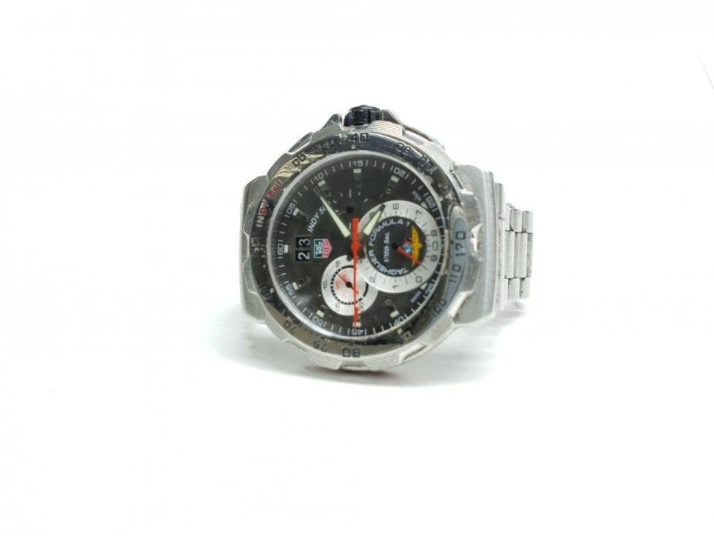 Mens Tag Heuer Indy 500 S.S Formula 1 Chrono Watch