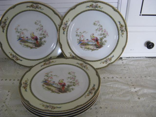 "10"" Noritake china Windsor Pattern Plates"