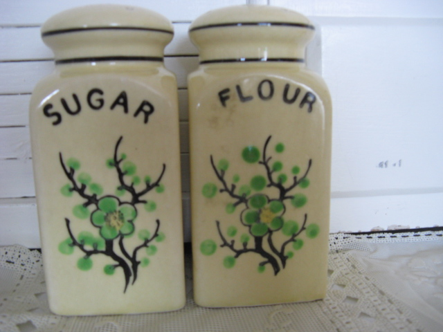 Sugar and Flour shakers