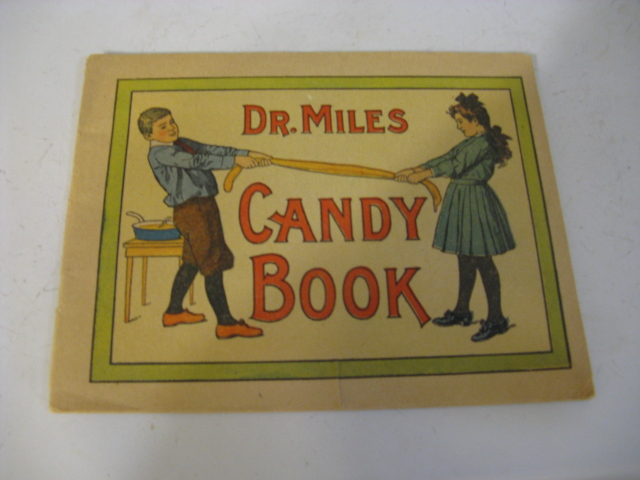 1900'S DR MILES CANDY BOOKLET