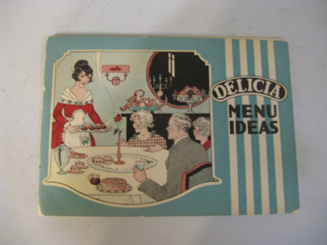 1900's DELICIAN MENU IDEAS
