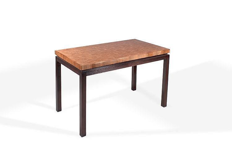 Jules wabbes 1919 1974 table console plateau en bois de - Table console bois ...