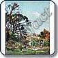 Pontmartin - goûter en famille Huile sur toile 98, Agricol Louis Montagné, Click for value