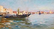 Raymond ALLEGRE (Marseille 1857-1933) Venise Huile