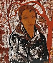 Alix AYME (1894-1989) Portrait de jeune femme