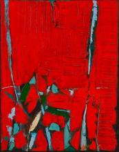 Olivier Debré (1920-1999) Figure rouge, 1962