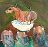 Breyten BREYTENBACH (né en 1939)   Buying the Mare, 1967, Breyten Breytenbach, Click for value
