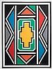 Esther MAHLANGU (né en 1935)   Sans titre, Esther Mahlangu, Click for value