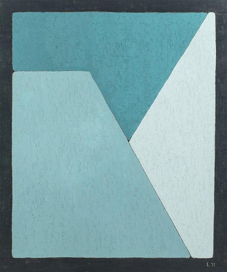 Elie BORGRAVE (1905-1992)  - Sans titre, 1975