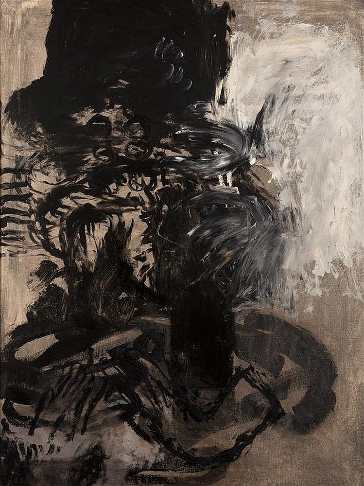 Xavier GRAU (né en 1951)  - Sans titre, 1988