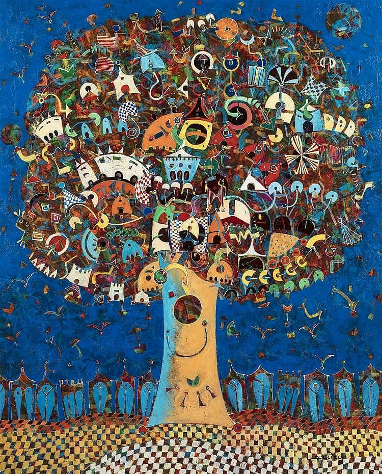 Jean François LARRIEU  (né en 1960)  - Plein air, 2000