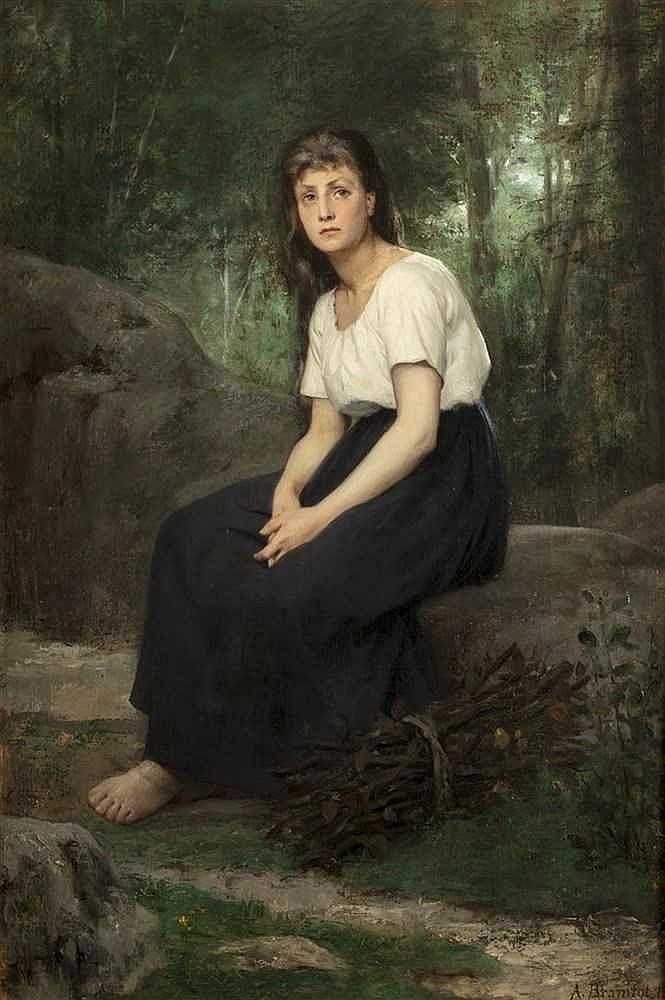 Alfred-Henri BRAMBOT  - (Paris 1852 - La Garenne sur Eure 1894)