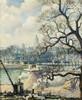 Georges MANZANA-PISSARRO (Louveciennes 1871-1961)  - Vue du quai Henri IV, Paris, Georges Manzana-Pissarro, €0