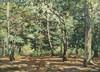 Emmanuel de la VILLEON (Fougères 1858 - Paris 1944)  - Le bosquet de Bel Air, 1898, Emmanuel de la Villeon, €0