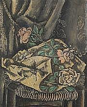 KOYANAGUI Sei (Sappon 1896-France 1948) Bouquet de