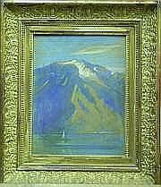 SINET André (Villenes sur Seine 1867 - ?) Paysage