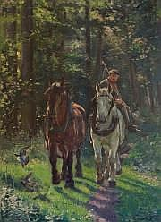 Edwin GANZ (Zürich 1871-Bruxelles 1957) Deux