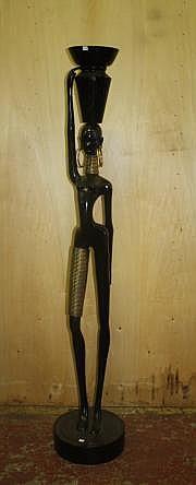 Karl HAGENAUER (1898-1956) Africaine à la jarre