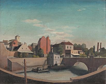 Amadeus Ernst BARTH (Zürich 1899-1926) Quai de