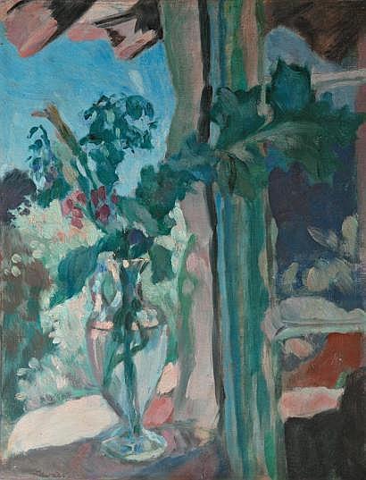Jean ZAWADO (Horochow 1891-Paris 1982) Fenêtre au
