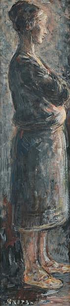 Léopold KRETZ (Lvow 1907- Paris 1990) Femme debout