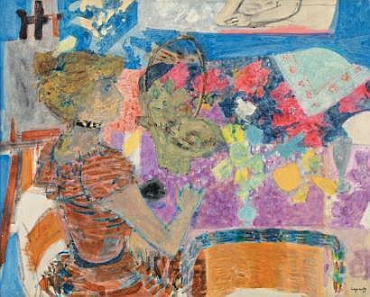 Raymond Jean LEGUEULT (Paris 1898-1971) La table