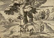 Michel II CORNEILLE dit l'ainéou CORNEILLE des Gobelins (Paris 1642 - 1708)