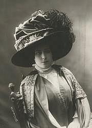 Henri MANUEL (1874-1947) Mode, chapeau, c. 1905