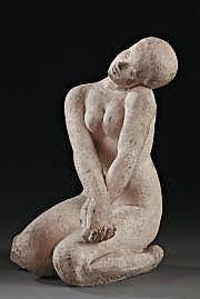 Henri Albert LAGRIFFOUL (Paris 1907 - 1981) «Nu