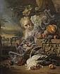 Jan WEENIX (Amsterdam 1640-1719) Jeune femme