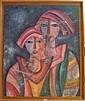 AVISSAR Simon (Casablanca 1938) Deux femmes Huile, Simon Avissar, Click for value