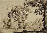 Ercole BAZZICALUVA (Pise 1610-1641) La chasse aux