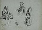 Alexandre BIDA (Toulouse 1823-Buhl 1895) Trois