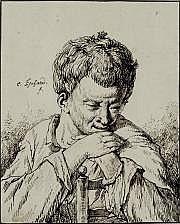 Charles ESCHARD (Caen 1748-1810) Portrait d'homme