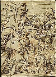 Thomas BLANCHET (Paris 1614-Lyon 1689) La Sainte