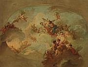 Attribué à Ramon BAYEU (1746-1793) Projet de