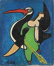 Edgar STOEBEL (Frenda 1909-Paris 2001) Toucan.