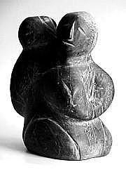 Nancy Kablutsiak TASSEOR (1935-) Mère et enfant.