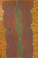 Ada Bird Petyarre (c. 1930 - 2009) Awelye Acrylique sur toile - 9