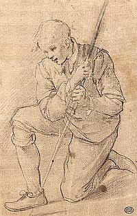 Attribué à Jacopo Chimenti da EMPOLI (Emopli 1554